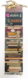 "Joanne Sanburg, ""Bookmark_Garden & Library"""