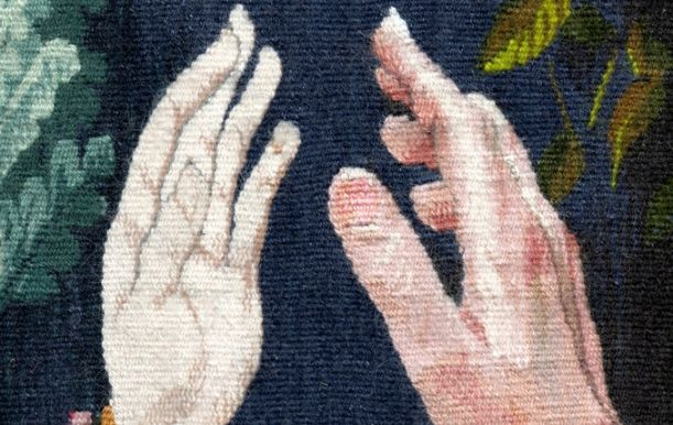 "Cecila Blomberg ""Hand to Hand"" Detail"
